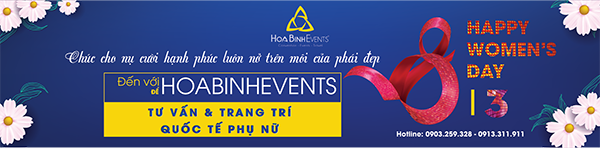 dịch vụ tổ chức sự kiện 8/3 của HoabinhEvents