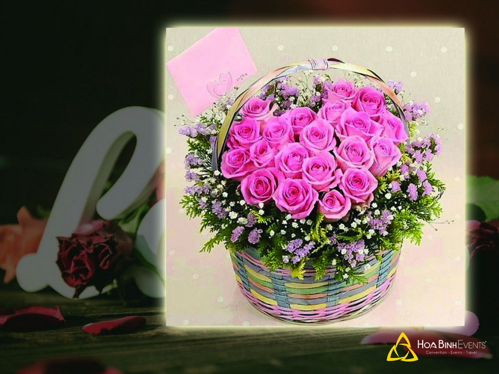 Dịch vụ tặng hoa tươi HoabinhEvents