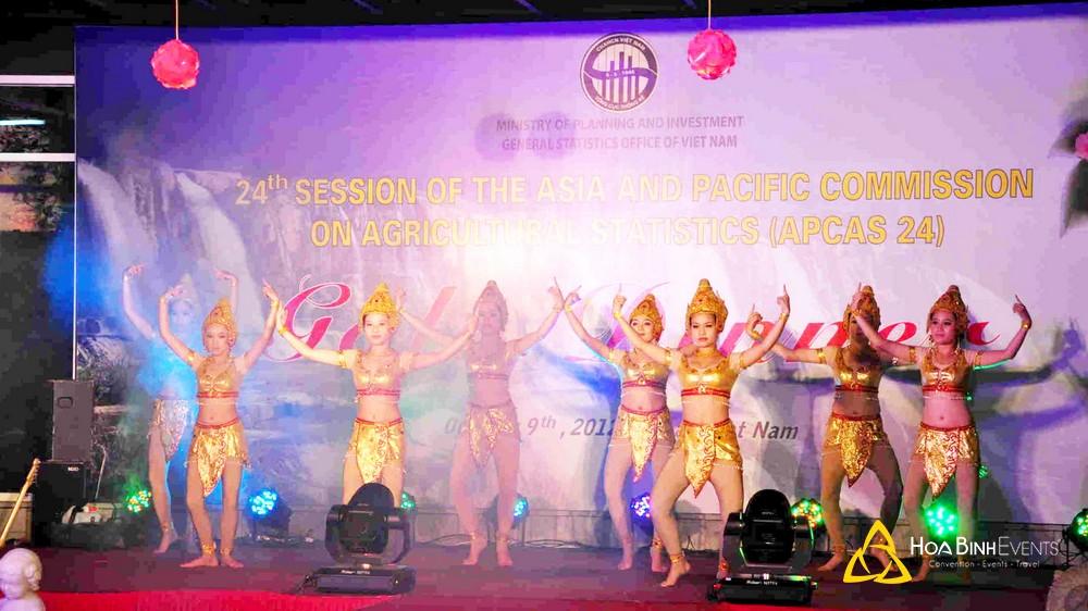 Gala Dinner Kỳ họp lần thứ 24 Ủy ban Châu Á - Thái Bình Dương về thống kê nông nghiệp APCAS24