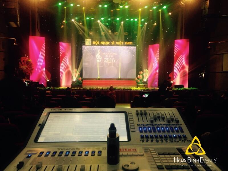 Dịch vụ cho thuê âm thanh - ánh sáng sự kiện hiện đại tại TP.HCM