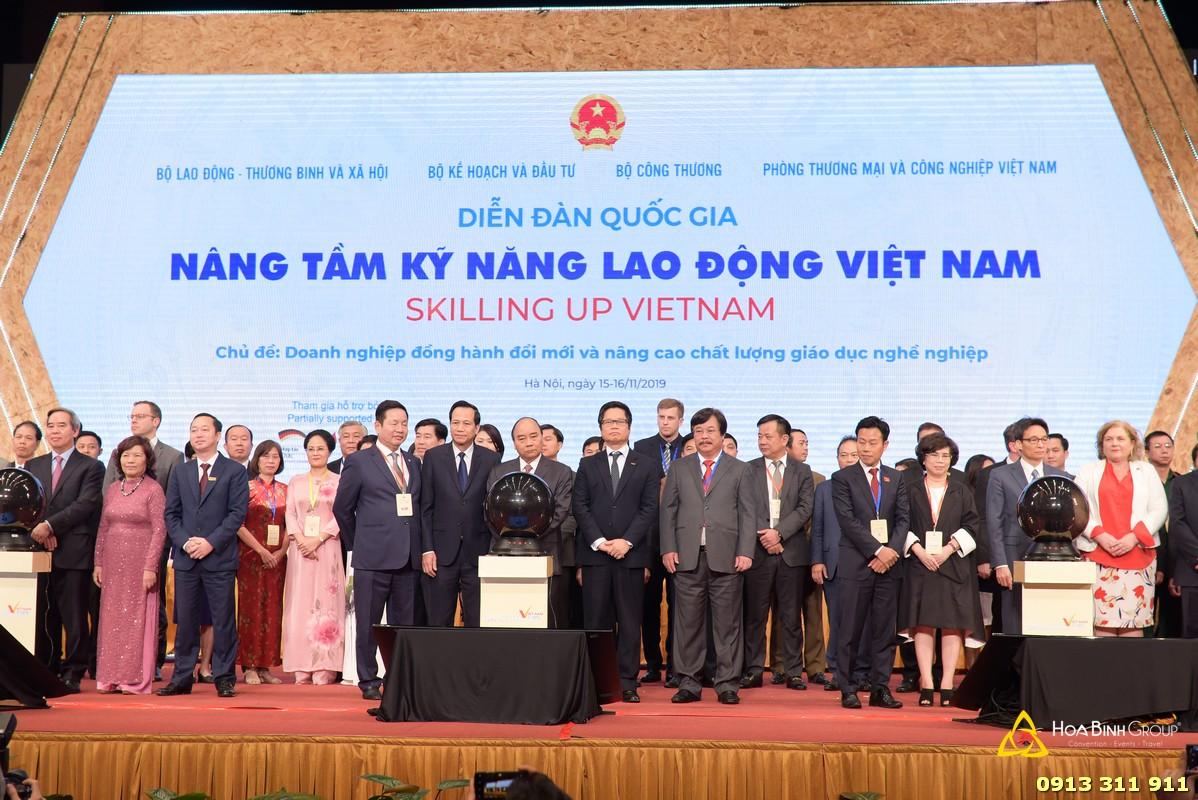 Diễn đàn Quốc gia Nâng tầm kỹ năng lao động Việt Nam