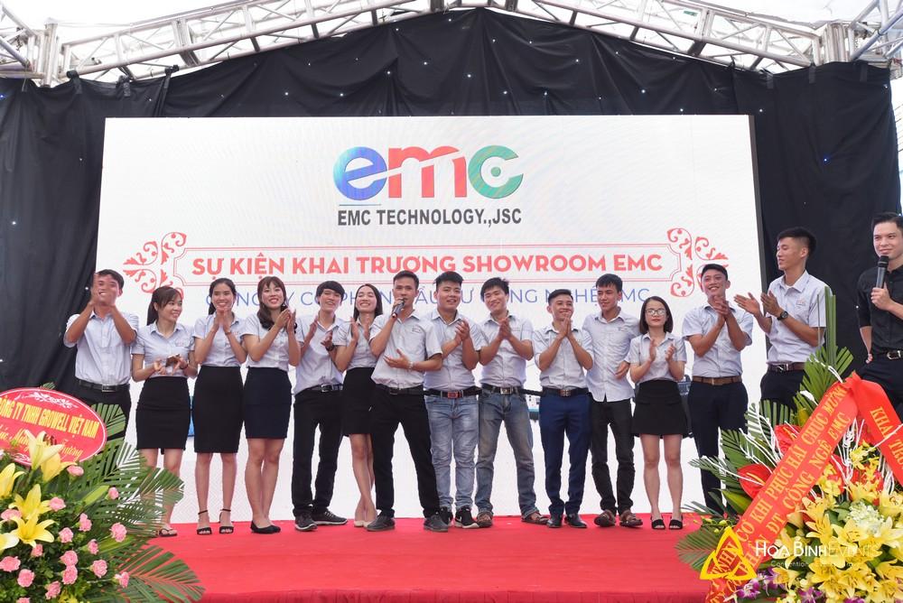 Sự kiện khai trương showroom EMC 2018