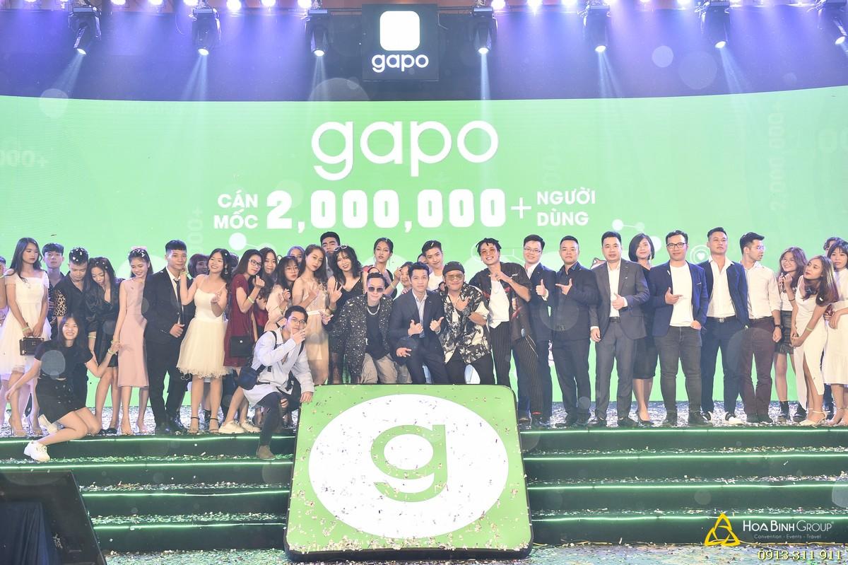 Sự kiện Mạng xã hội Gapo cán mốc 2 triệu người dùng