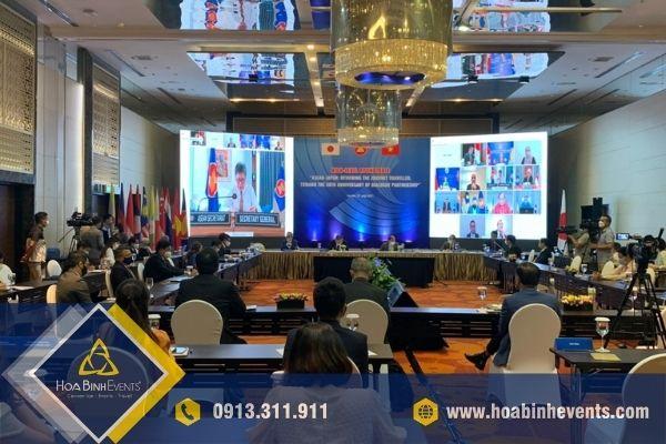 Tọa đàm bàn tròn cấp cao trực tuyến ASEAN - Nhật Bản