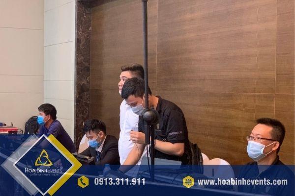 Đội ngũ kỹ thuật viên HoaBinh Events