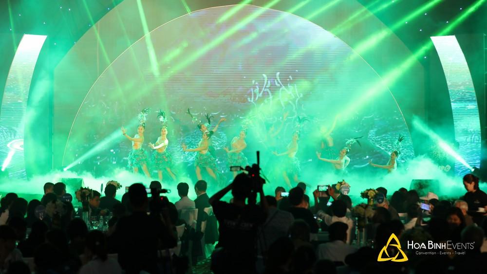 Màn hình LED ấn tượng tại HoaBinh Events