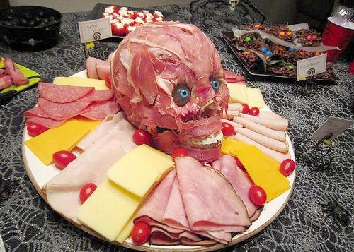thực đơn rùng rợn cho đêm halloween ấn tượng