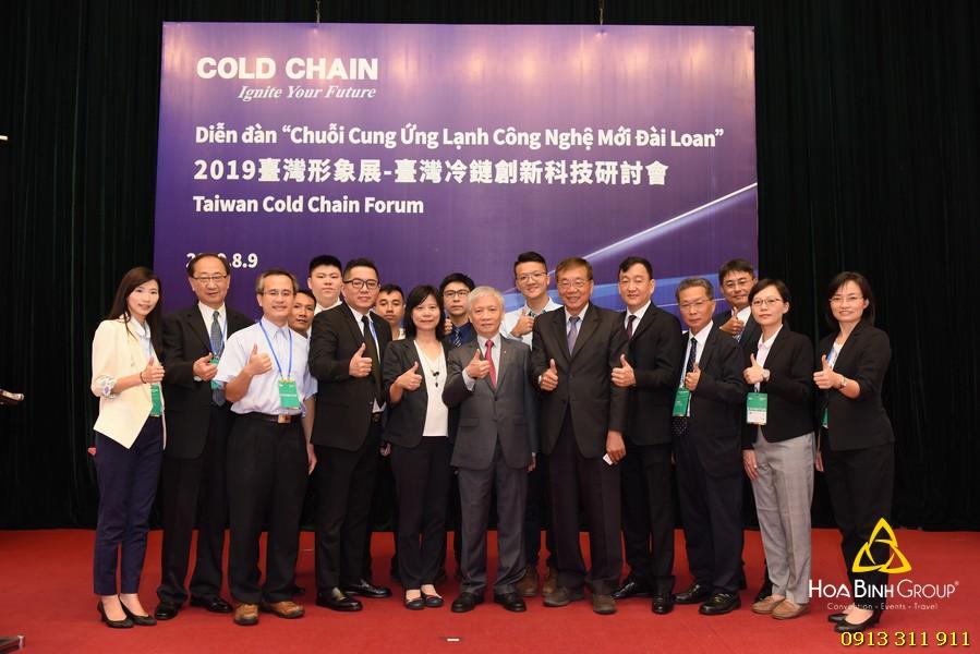 Diễn đàn Chuỗi cung ứng lạnh công nghệ mới Đài Loan
