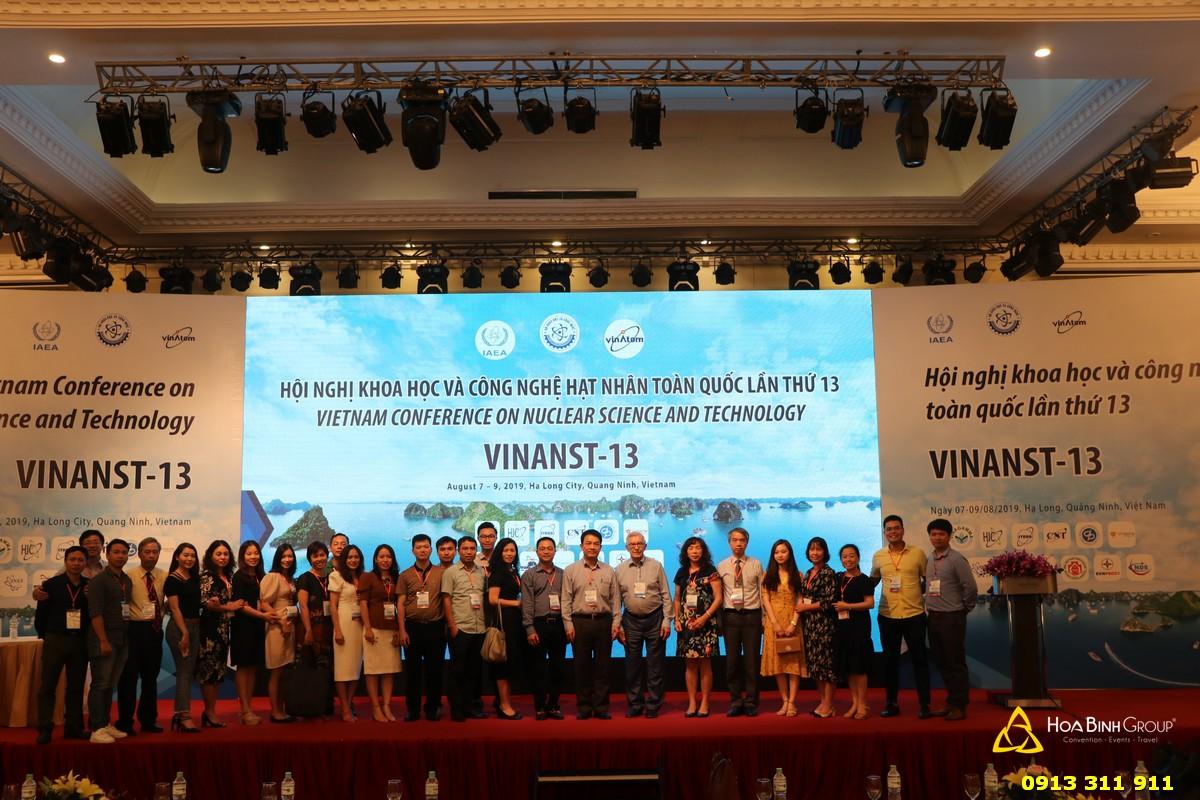Hội nghị khoa học và công nghệ hạt nhân toàn quốc VINANST lần thứ 13