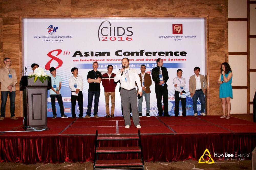 ACIIDS2016: Hội thảo Châu Á lần thứ 8 về các hệ thống thông tin và cơ sở dữ liệu thông minh