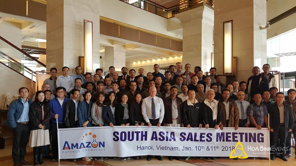 Hội nghị bán hàng tại khu vực Nam Á của công ty Amazon Papyrus Chemicals Ltd.