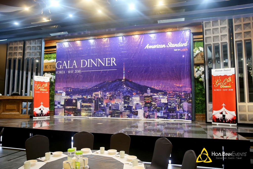 Gala Dinner của American Standard tại Hàn Quốc