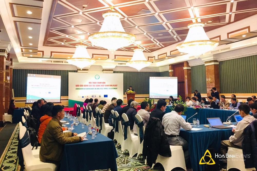 Hội thảo tham vấn Báo cáo đánh giá tác động Hiệp định VPA/FLEGT