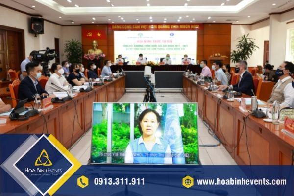 HoaBinh Events là công ty tổ chức hội nghị trực tuyến chuyên nghiệp