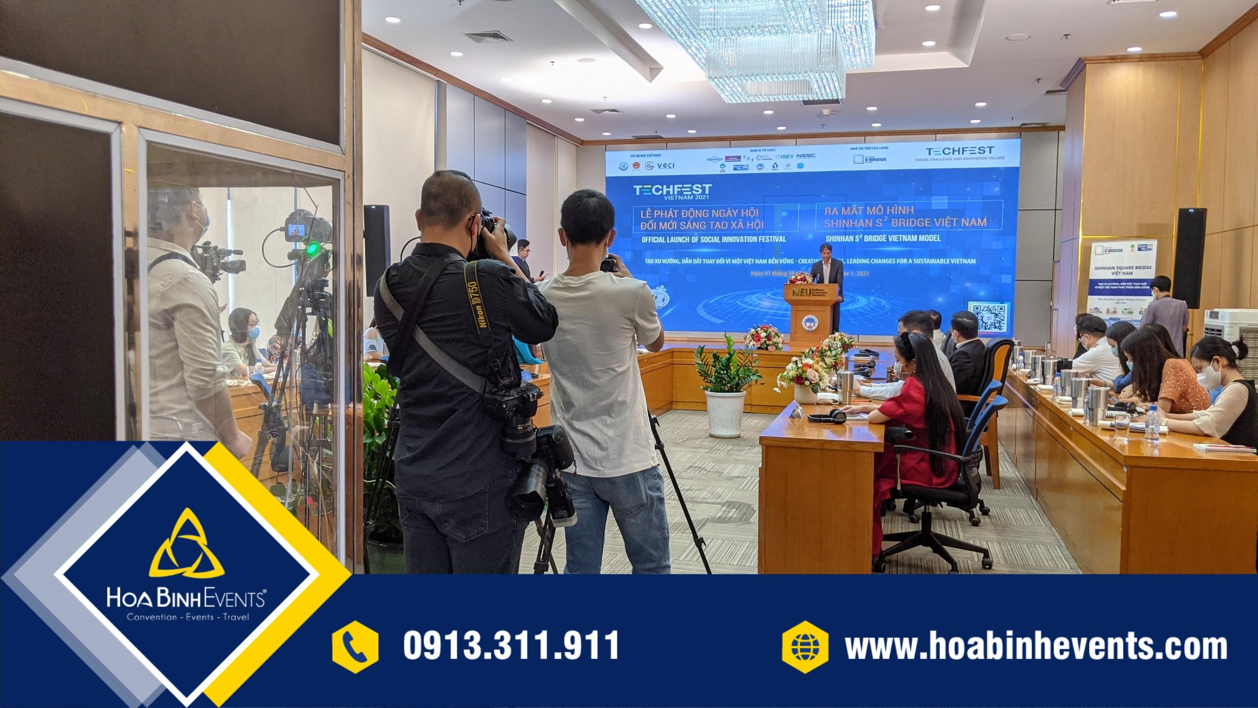 Dịch vụ tổ chức sự kiện HoaBinh Events