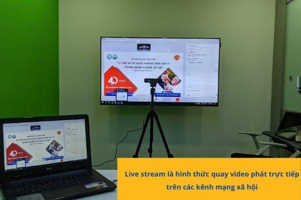 HoaBinh Events cung cấp dịch vụ Livestream chuyên nghiệp