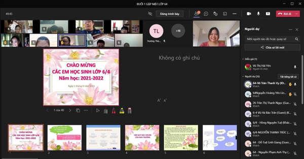Ngày đầu học trực tuyến, nhiều trường ở Hà Nội phản ánh tình trạng nghẽn mạng khi học online