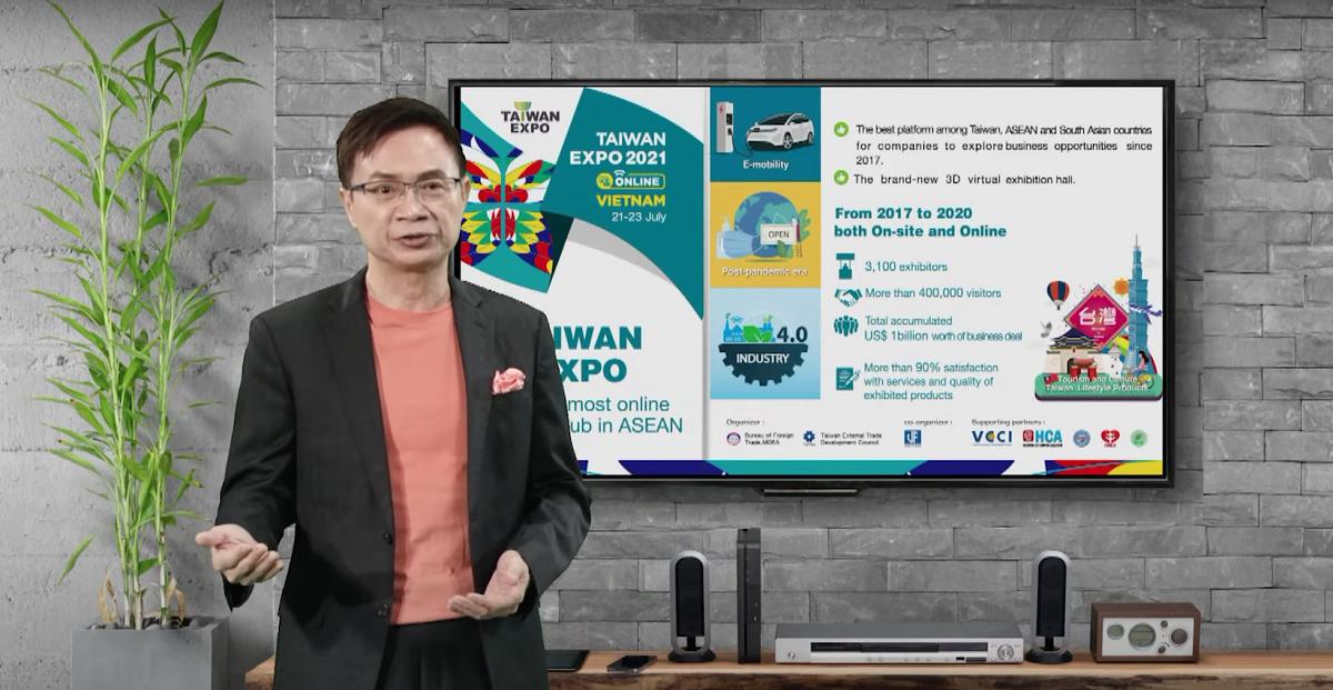 Taiwan Expo 2021 tạo ra nhiều cơ hội kết nối giao thương