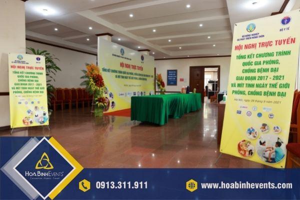 Hội nghị trực tuyến - Tổng kết Chương trình quốc gia