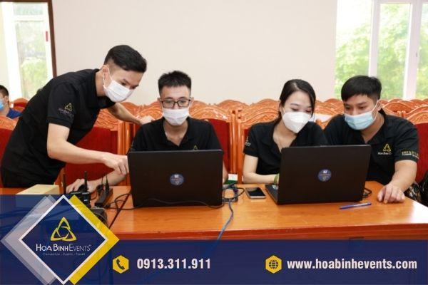 HoaBinh Events - Đơn vị chuyên tổ chức hội nghị trực tuyến đa điểm cầu