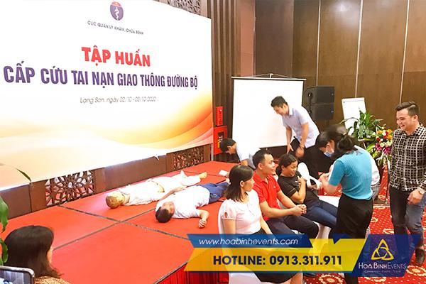 tăng cường sự tương tác trong quá trình tổ chức hội nghị tập huấn