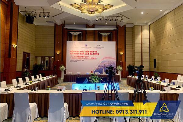 tổ chức hội nghị trực tuyến trọn gói của hoabinh events