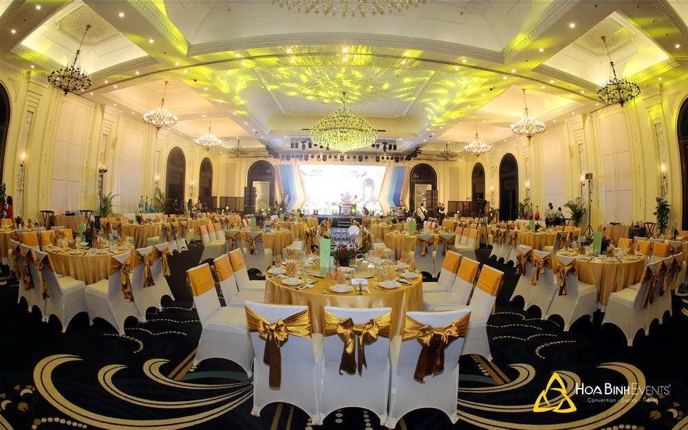Một sự kiện tri ân khách hàng do HoaBinh Events tổ chức tại thành phố HCM