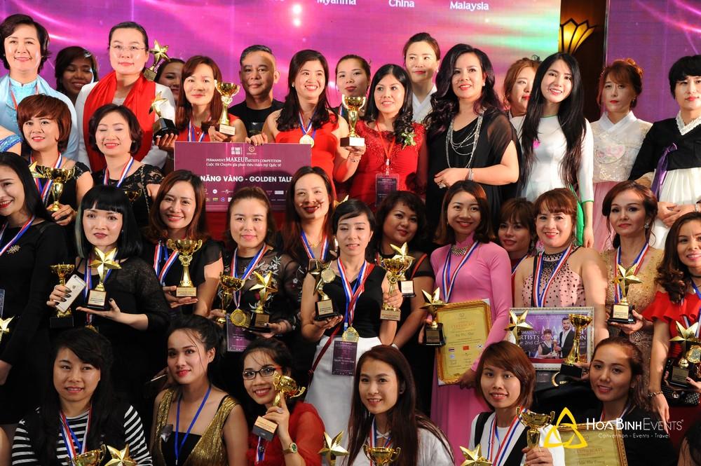 Cuộc thi Chuyên gia phun thêu hàng đầu Việt Nam lần thứ 2 - Permanent make up artists competition - The 2nd Global PMAC Festival