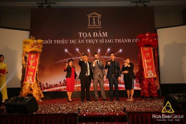 Tổ chức Tọa đàm tại Crowne Plaza Hanoi Hotel