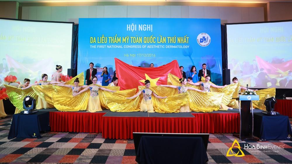Hội nghị Da liễu thẩm mỹ toàn quốc lần thứ nhất 2016