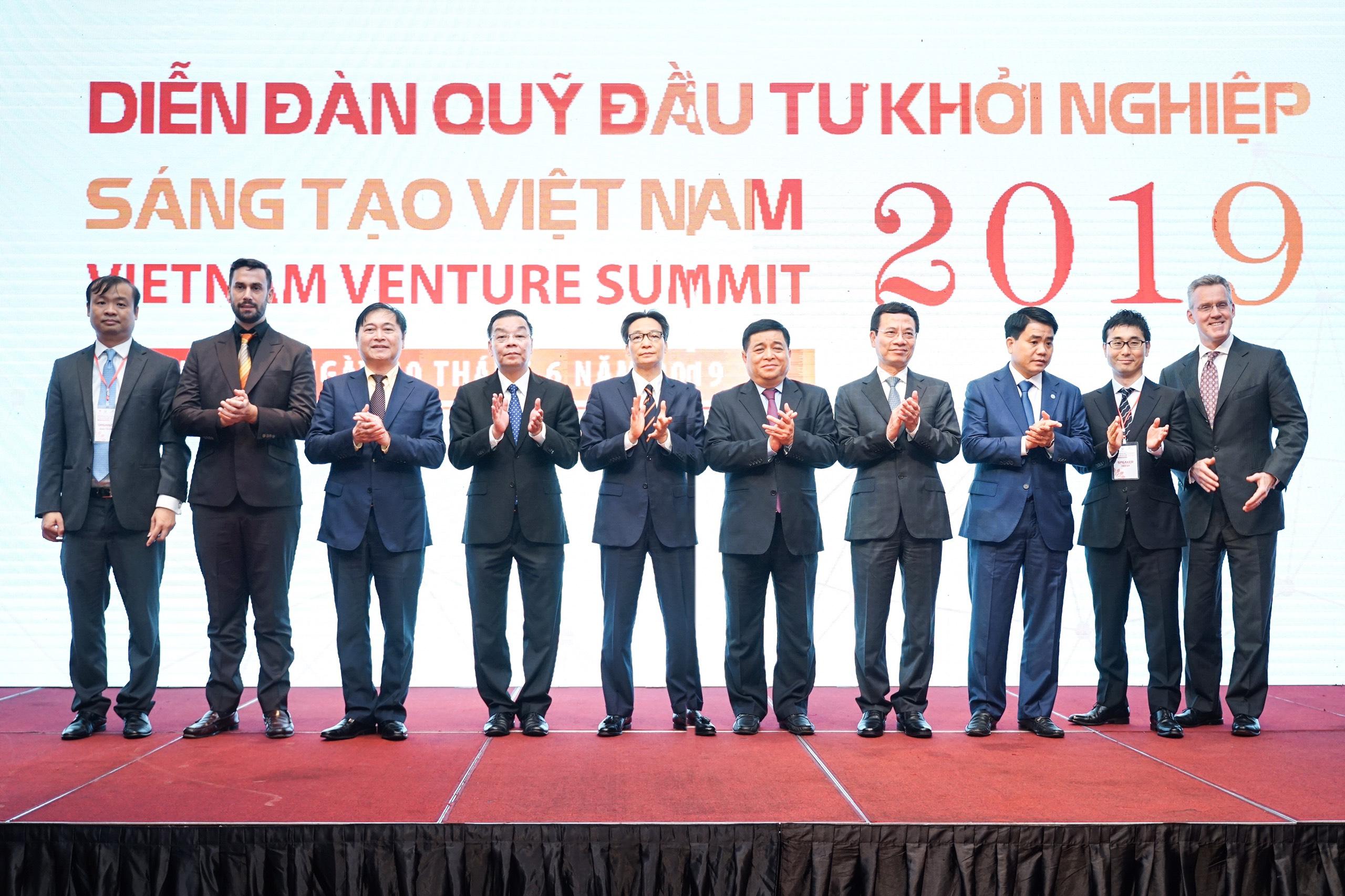 Diễn đàn Quỹ đầu tư khởi nghiệp sáng tạo Việt Nam 2019