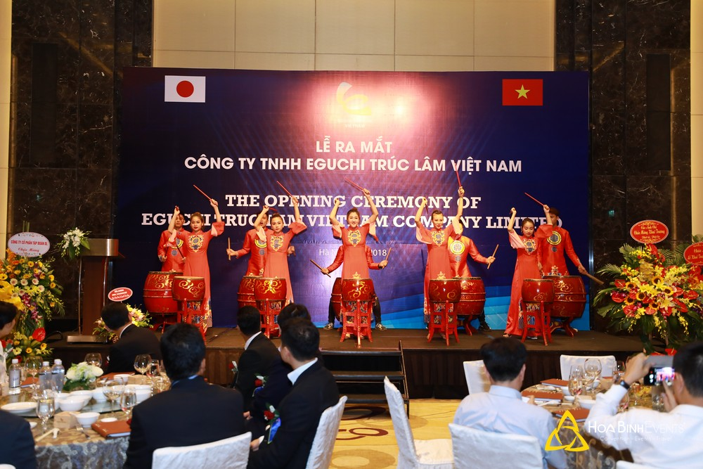 Lễ ra mắt công ty TNHH Eguchi Trúc Lâm Việt Nam http://hoabinhevents.com/sp/le-ra-mat-cong-ty-tnhh-eguchi-truc-lam-viet-nam.html