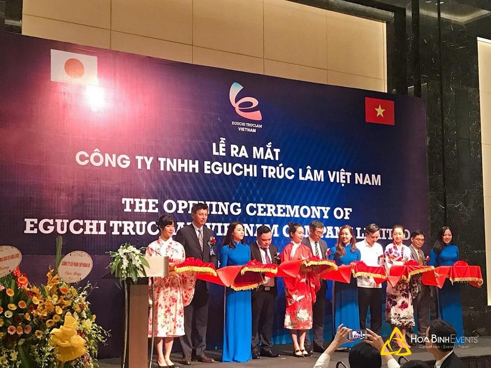 Lễ ra mắt công ty TNHH Eguchi Trúc Lâm Việt Nam