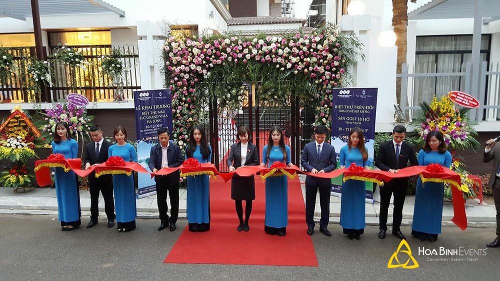 Lễ khai trương Biệt thự mẫu FLC Grand Villa Hạ Long