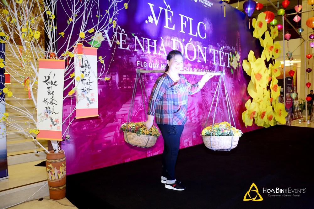 photo booth tại sự kiện của FLC