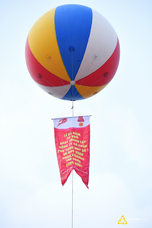 khinh khí cầu 2,5m