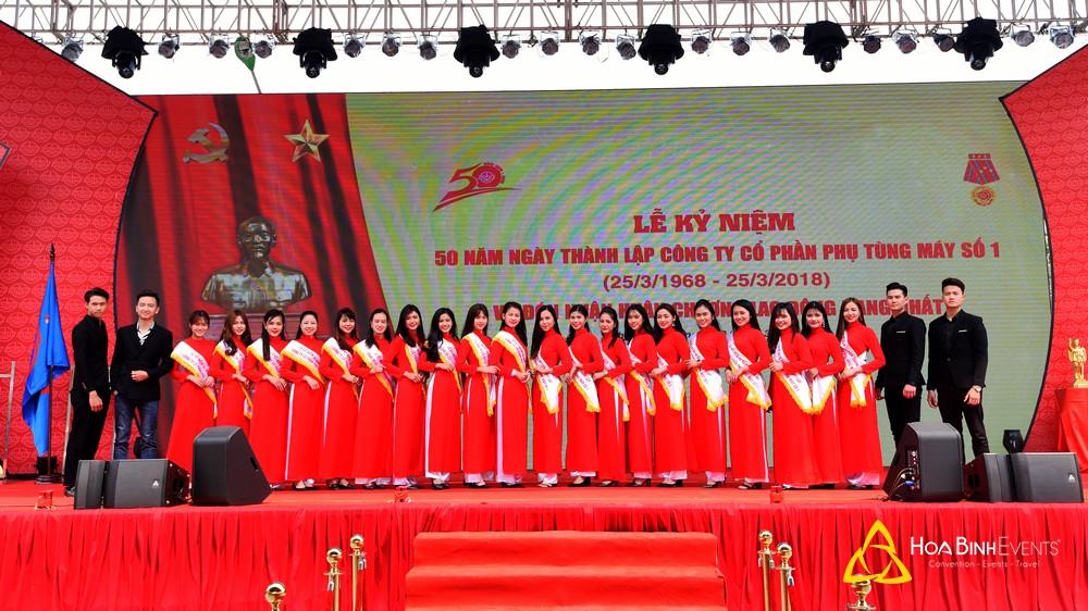 Lễ kỷ niệm 50 năm ngày thành lập Công ty cổ phần phụ tùng máy số 1và Đón nhận Huân chương lao động hạng nhất
