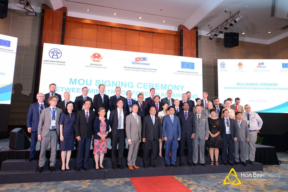 """Hội nghị """"Gặp gỡ châu Âu"""" năm 2018: Cơ hội thu hút đầu tư nước ngoài vào Hà Nội"""