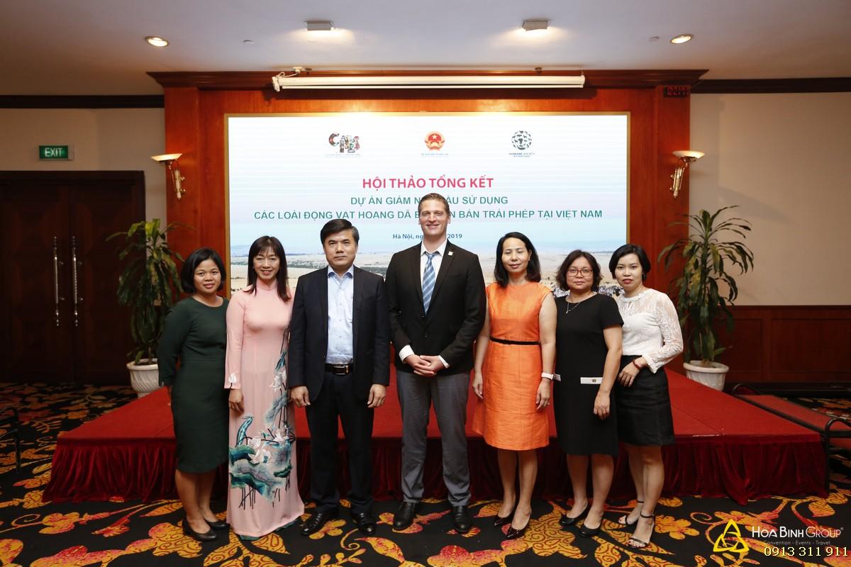 Hội thảo tổng kết dự án Giảm nhu cầu sử dụng các loài động vật hoang dã bị buôn bán trái phép tại Việt Nam