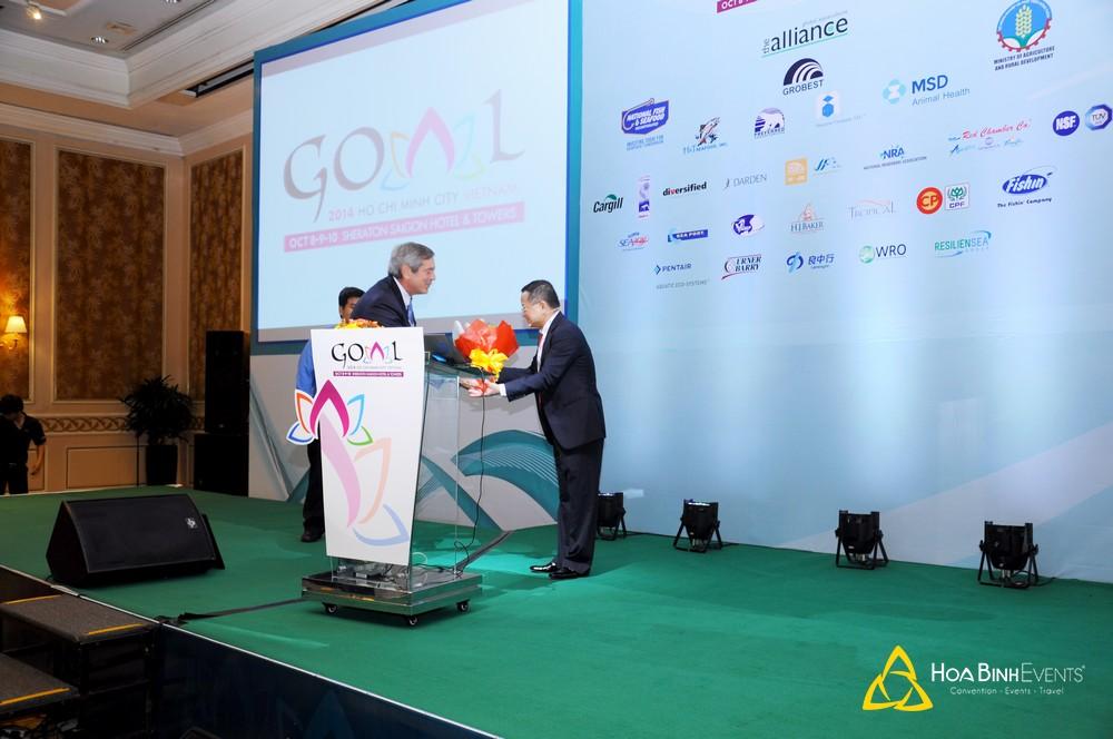 Hội nghị Nuôi trồng Thủy sản Toàn cầu cho Giới lãnh đạo năm 2014 (GOAL 2014)