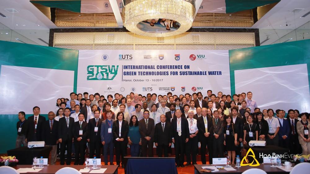Hội nghị quốc tế về công nghệ xanh giúp quản lý nguồn nước bền vững GTSW 2017