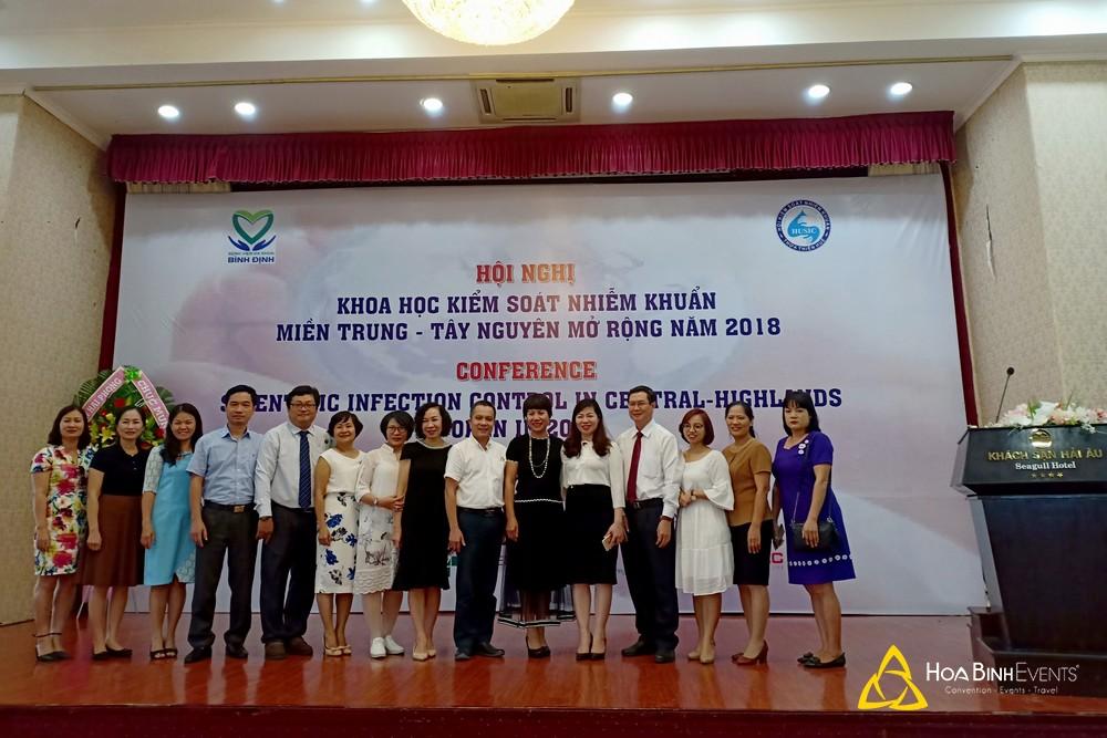 Hội nghị Khoa học kiểm soát nhiễm khuẩn miền Trung - Tây Nguyên mở rộng năm 2018