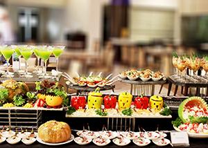 tiệc buffet halloween