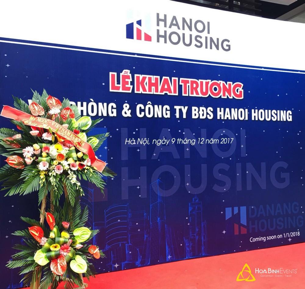 Lễ khai trương Văn phòng và Công ty BĐS Hanoi Housing