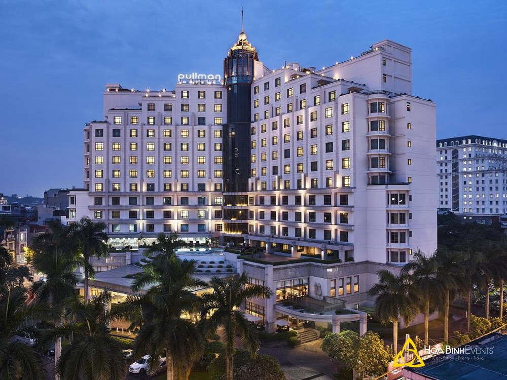 Khách sạn Pullman Hanoi  Địa chỉ: 40 Cát Linh, Quận Đống Đa, Hà Nội