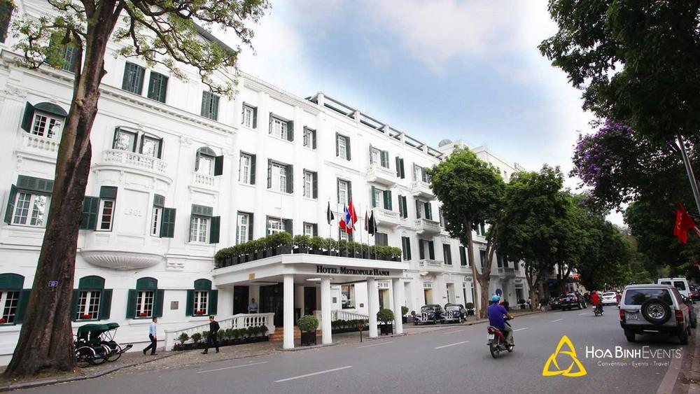 Khách sạn Sofitel Legend Metropole Hanoi Địa chỉ: Số 15 Ngô Quyền, Quận Hoàn Kiếm, Hà Nội