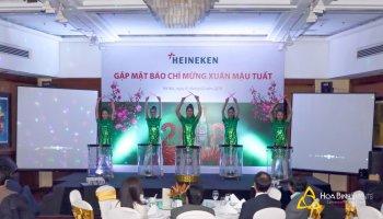 Gặp mặt báo chí mừng Xuân Mậu Tuất Heineken 2018