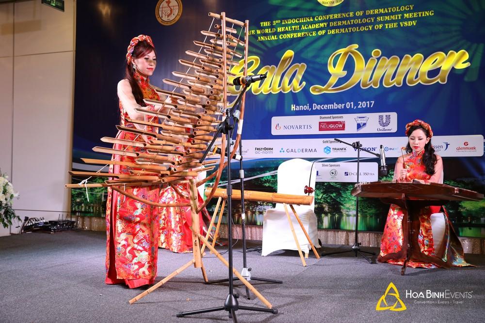 Gala Dinner Hội nghị Da liễu 2017