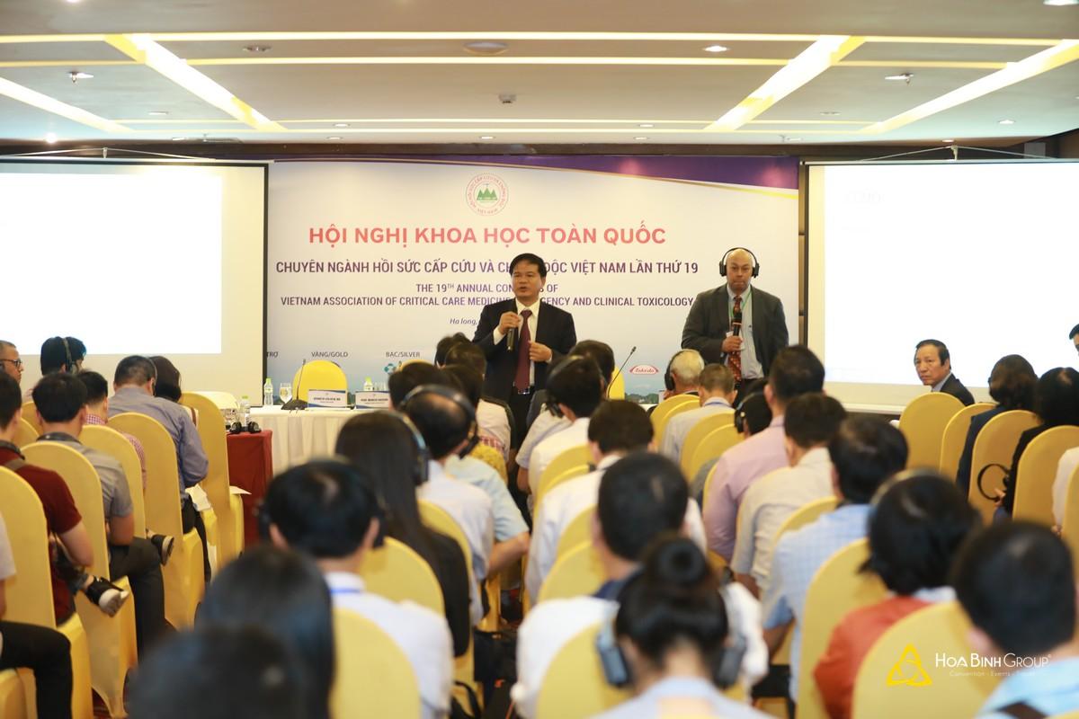 Hội nghị khoa học toàn quốc chuyên ngành Hồi sức cấp cứu và chống độc Việt Nam lần thứ 19