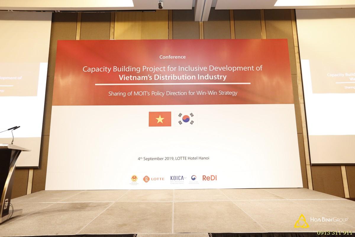 Hội thảo định hướng chính sách hợp tác Win-Win trong ngành phân phối giữa Việt Nam và Hàn Quốc